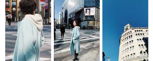 23KU_DAYS - COLOR COAT in GINZA
